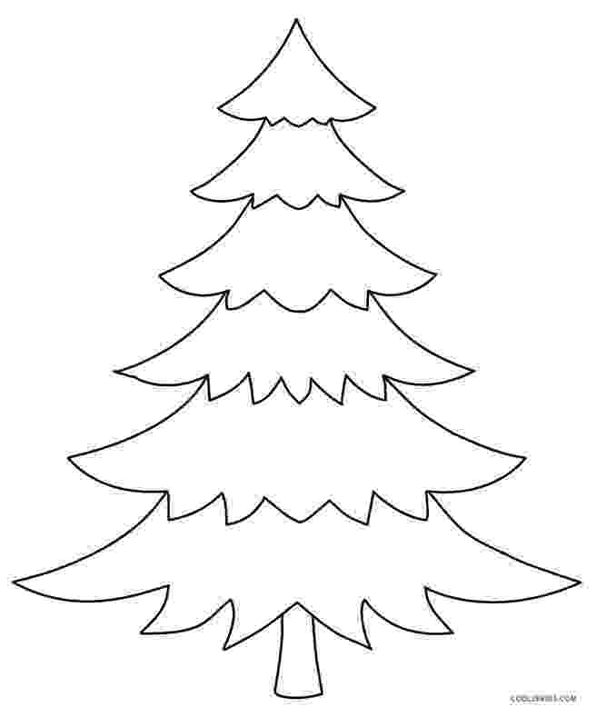 colouring pages christmas tree printable christmas tree coloring pages for kids cool2bkids colouring christmas tree pages