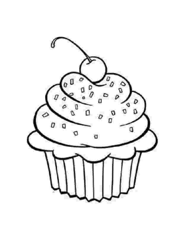 colouring pages cupcakes birthday cupcake coloring pages download and print for free pages cupcakes colouring
