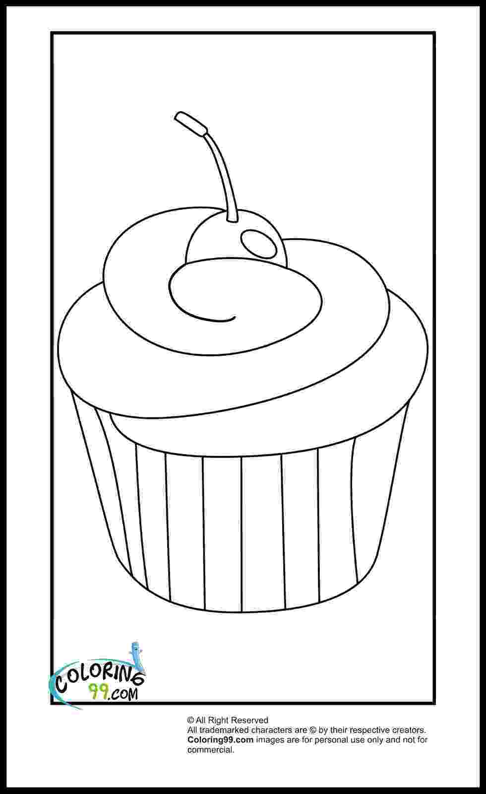 colouring pages cupcakes cupcake coloring pages minister coloring colouring cupcakes pages