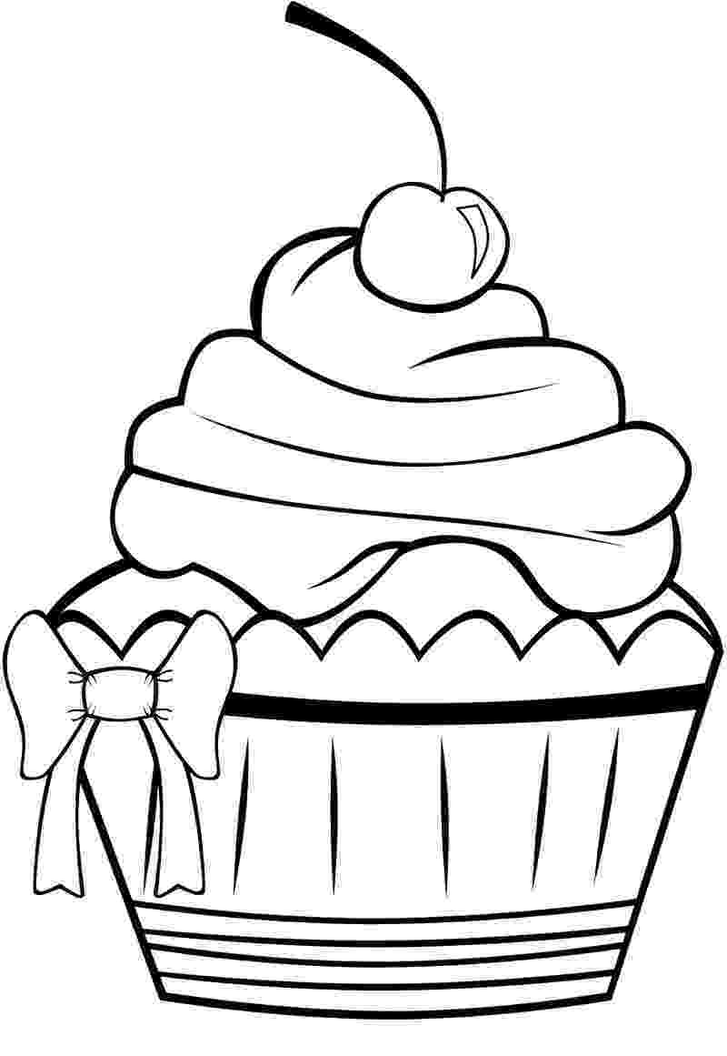 colouring pages cupcakes cute cupcake coloring page ގun c tt n cupcake coloring colouring cupcakes pages