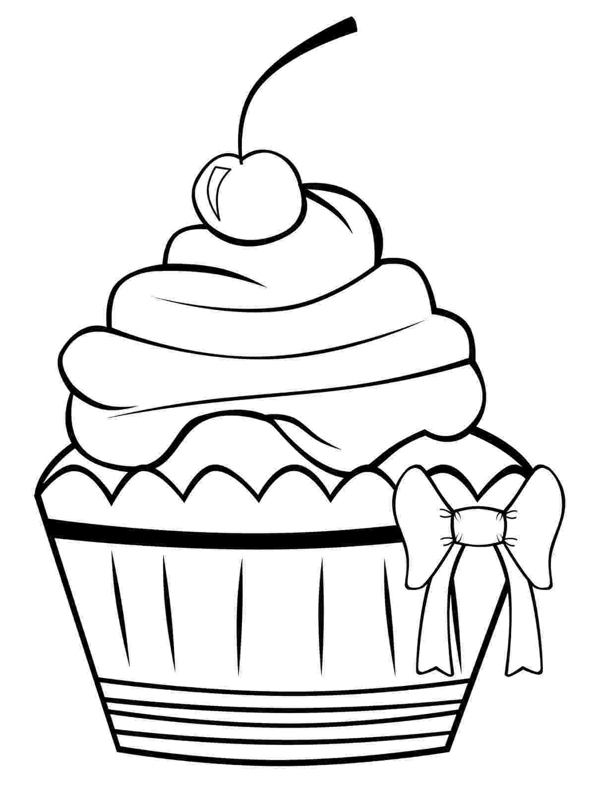 colouring pages cupcakes free printable cupcake coloring pages for kids cool2bkids colouring cupcakes pages