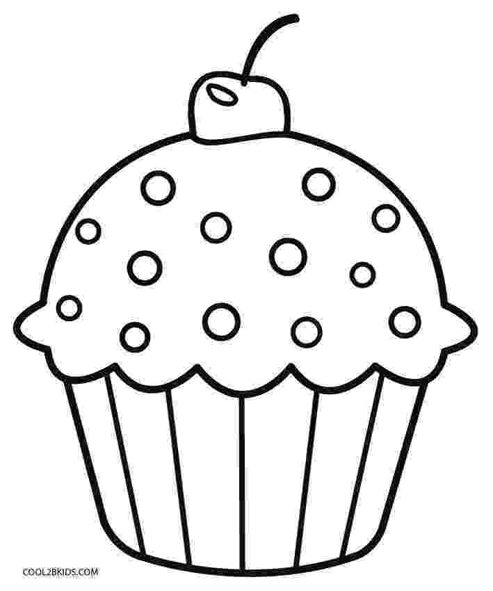 colouring pages cupcakes free printable cupcake coloring pages for kids cool2bkids colouring cupcakes pages 1 1