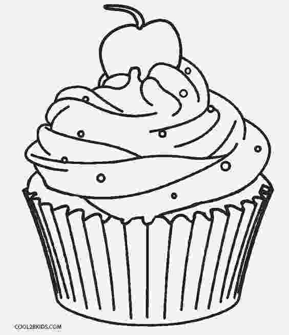colouring pages cupcakes free printable cupcake coloring pages for kids cool2bkids pages colouring cupcakes