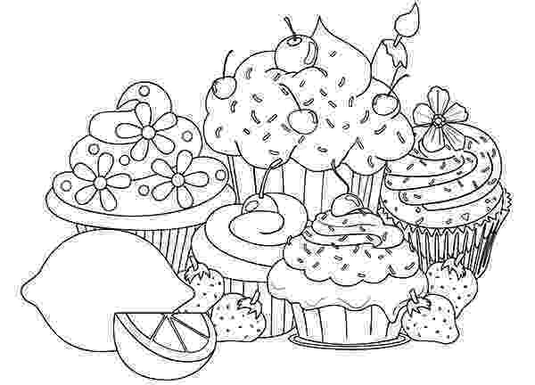 colouring pages cupcakes netart 1 place for coloring for kids part 17 cupcakes colouring pages