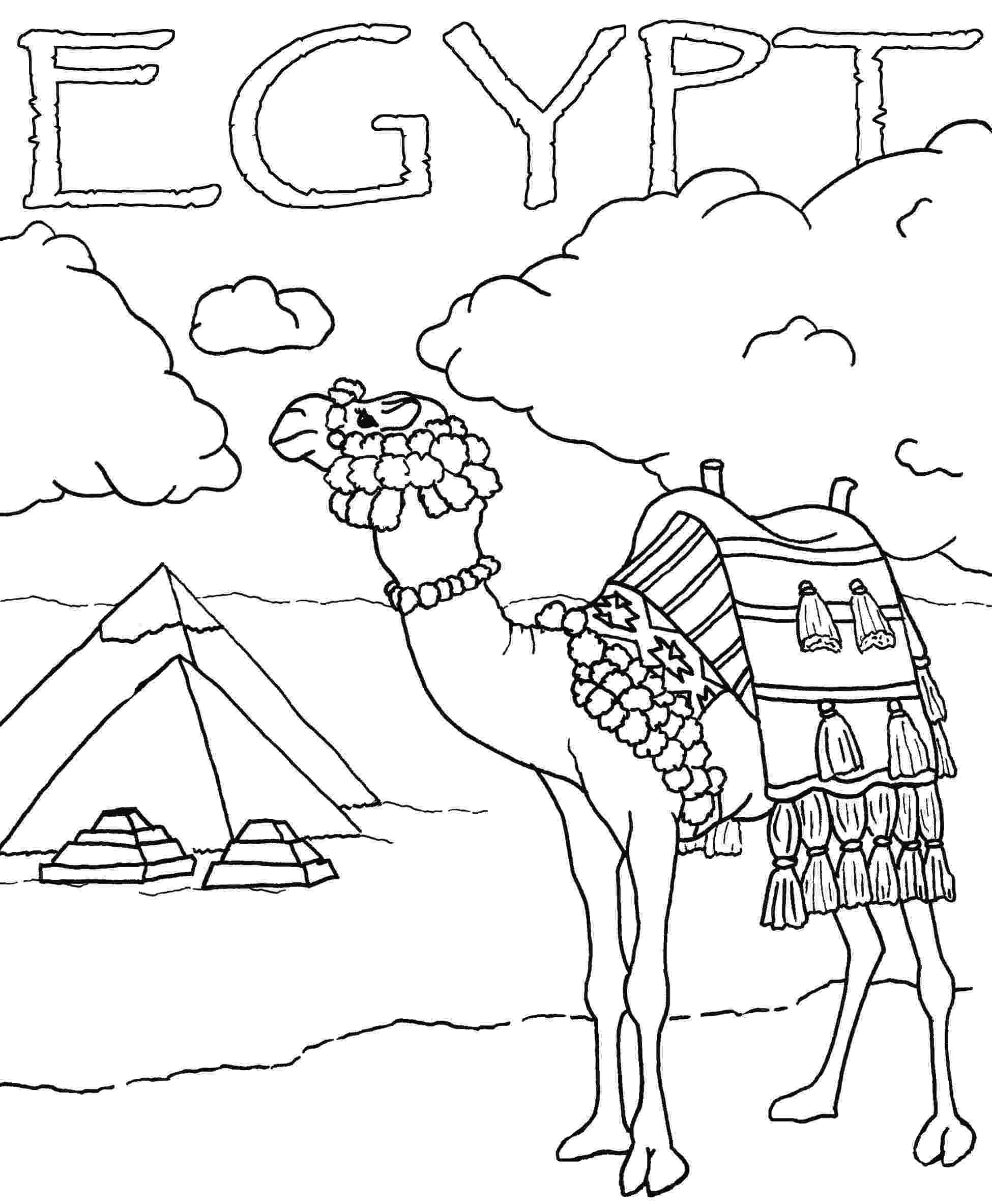 colouring pages egypt ancient egyptians did not worship the one true god read colouring pages egypt