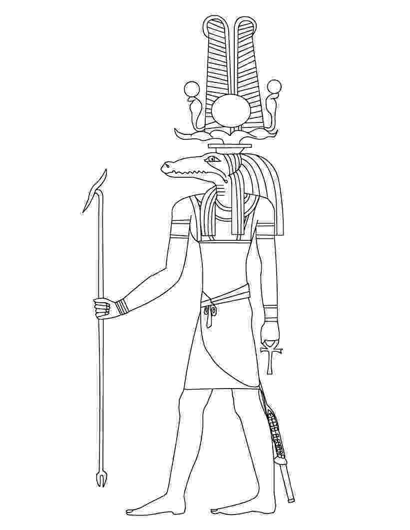 colouring pages egypt rameses iii coloring page free printable coloring pages pages colouring egypt