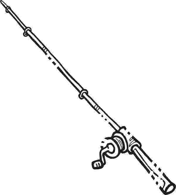 colouring pages fishing rod drawing fishing pole coloring pages download print fishing colouring rod pages