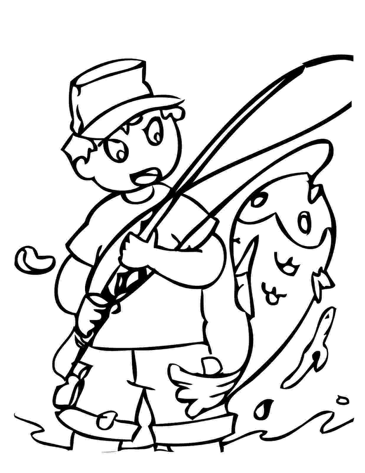colouring pages fishing rod fishing coloring pages kids coloring coloring pages rod colouring fishing pages
