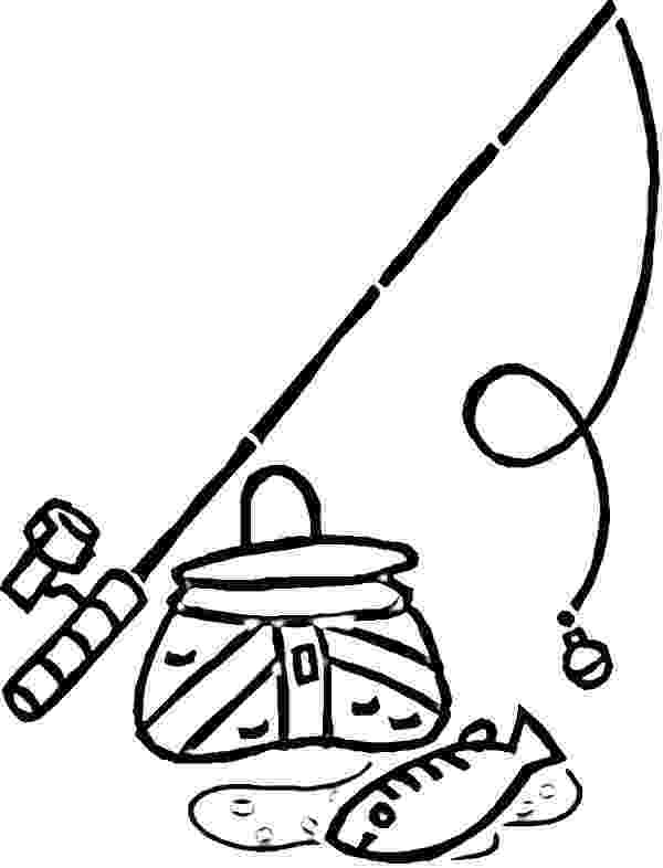colouring pages fishing rod fishing pole coloring page clipart best colouring fishing pages rod