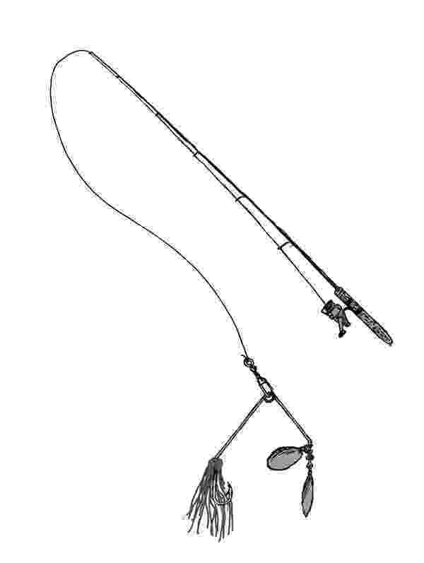 colouring pages fishing rod fishing rod coloring pages pages rod fishing colouring