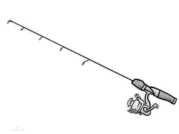 colouring pages fishing rod rig an ice fishing pole coloring pages download print pages colouring fishing rod