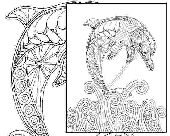 colouring pages for adults print dolphin coloring page adult coloring sheet nautical print adults pages for colouring