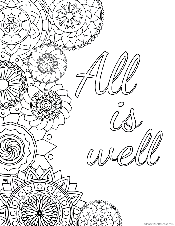 colouring pages for adults with quotes 12 inspiring quote coloring pages for adultsfree printables adults pages quotes with for colouring