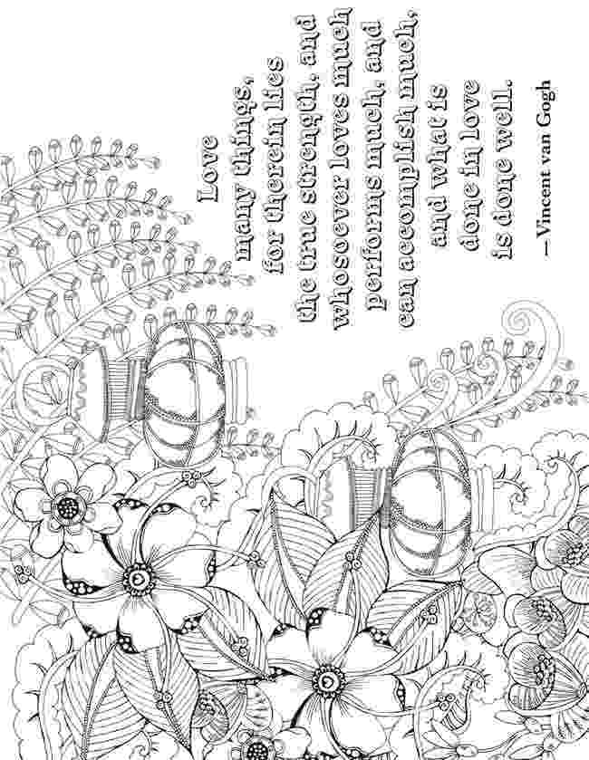colouring pages for adults with quotes pin by colette banks on essence of ink adult coloring with for colouring quotes adults pages