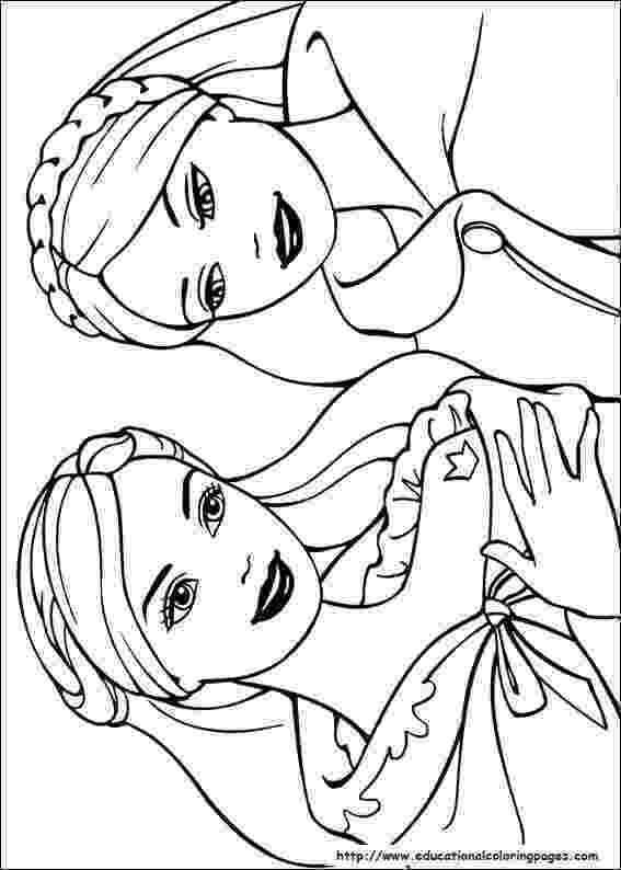 colouring pages for barbie princess barbie maripossa coloring pages learny kids barbie colouring princess for pages