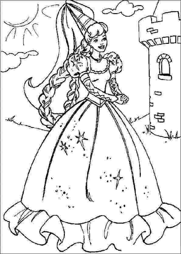 colouring pages for barbie princess free printable barbie coloring pages for kids pages princess barbie colouring for