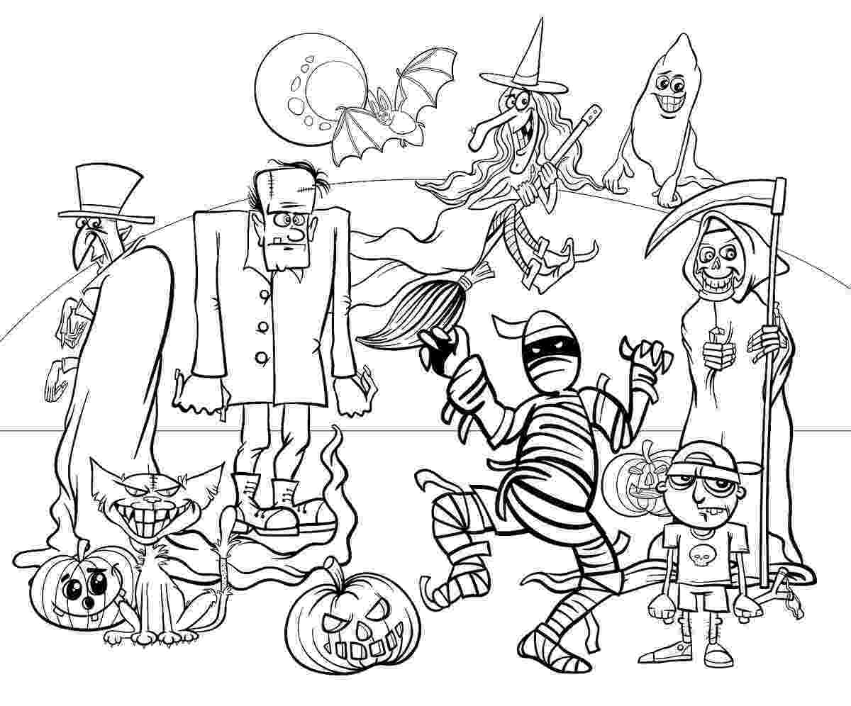 colouring pages for halloween free printable 24 free printable halloween coloring pages for kids colouring printable halloween free for pages