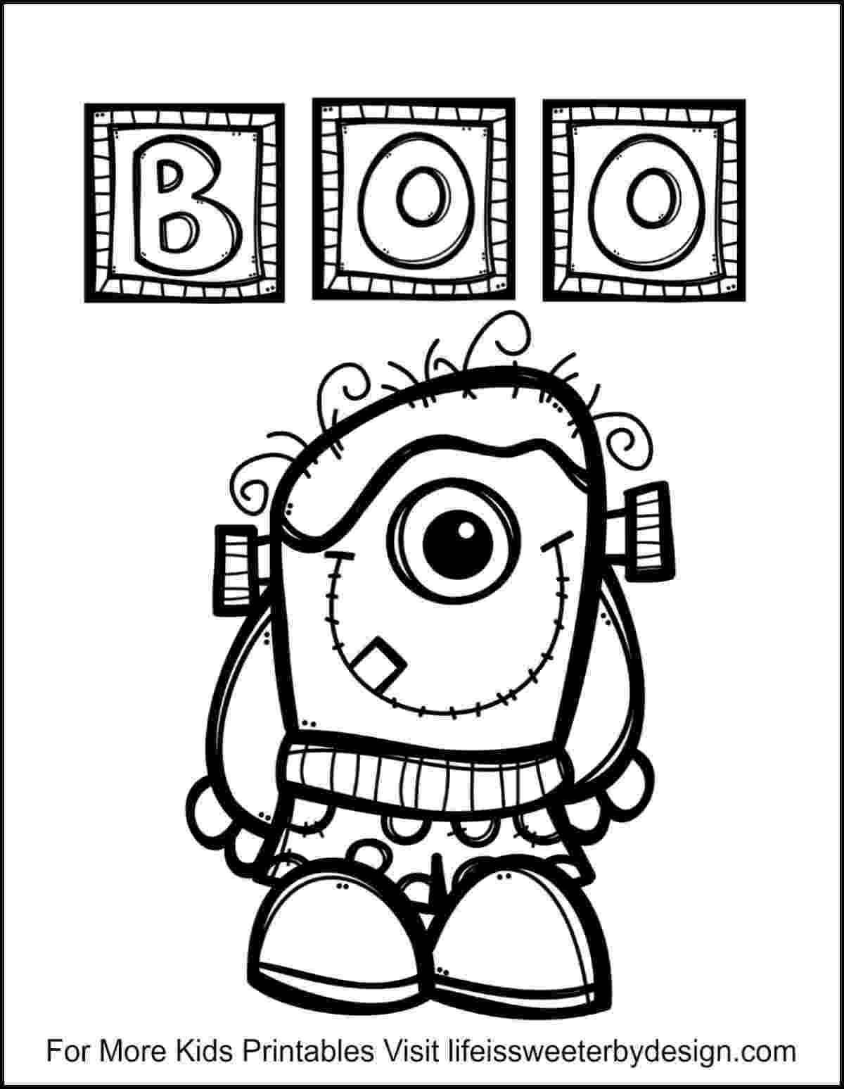 colouring pages for halloween free printable 5 pages instant download halloween coloring pages 5 pages for printable free halloween colouring