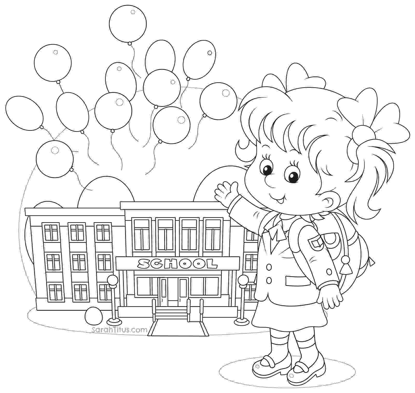 colouring pages for play school 20 free printable school coloring pages school pages for colouring play