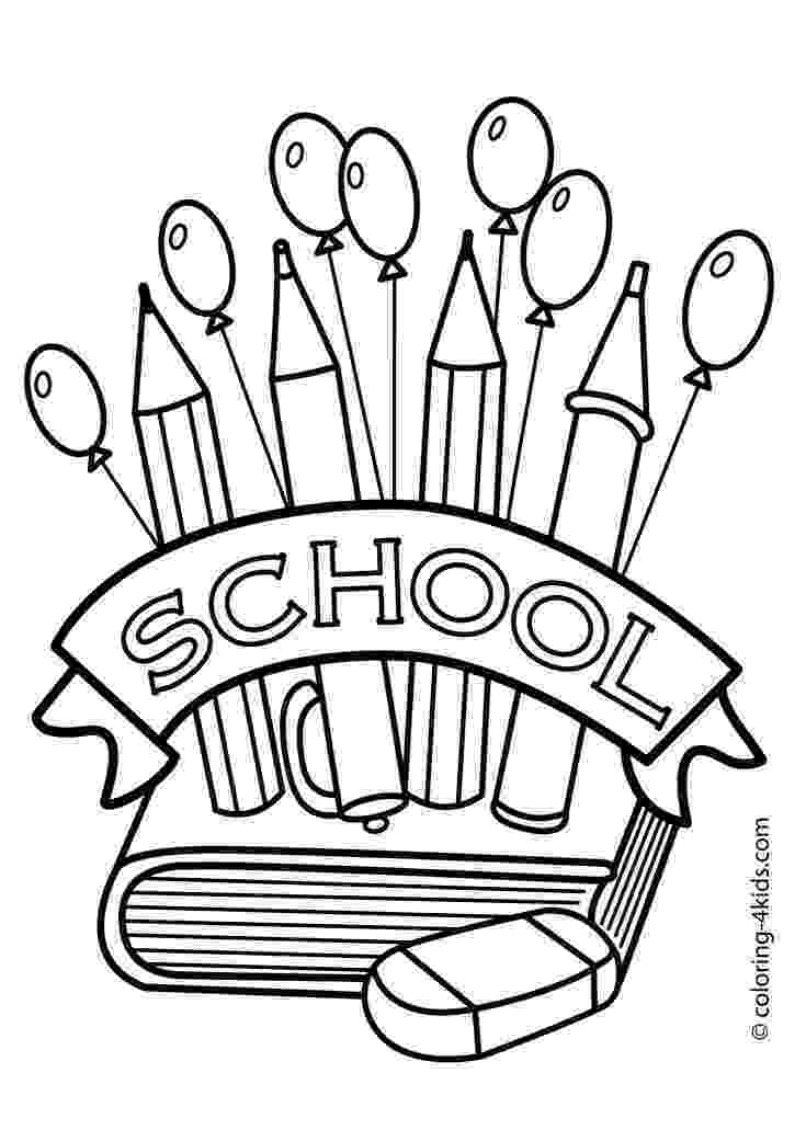 colouring pages for play school back to school coloring pages sarah titus colouring school for pages play