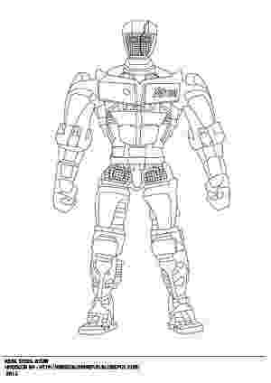 colouring pages for real steel real steel coloring pages atom coloringsnet for pages colouring steel real