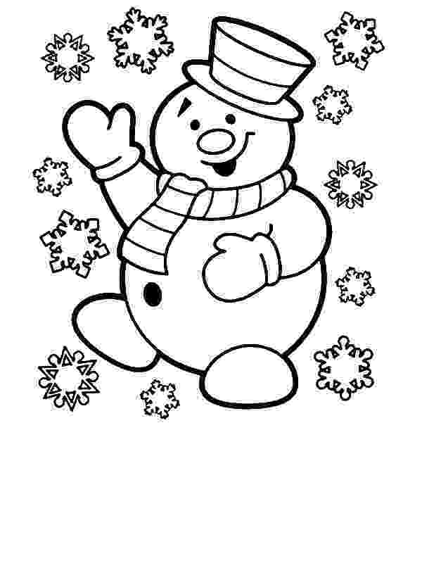 colouring pages for two year olds mr snowman is very happy for christmas coloring page olds pages year colouring for two