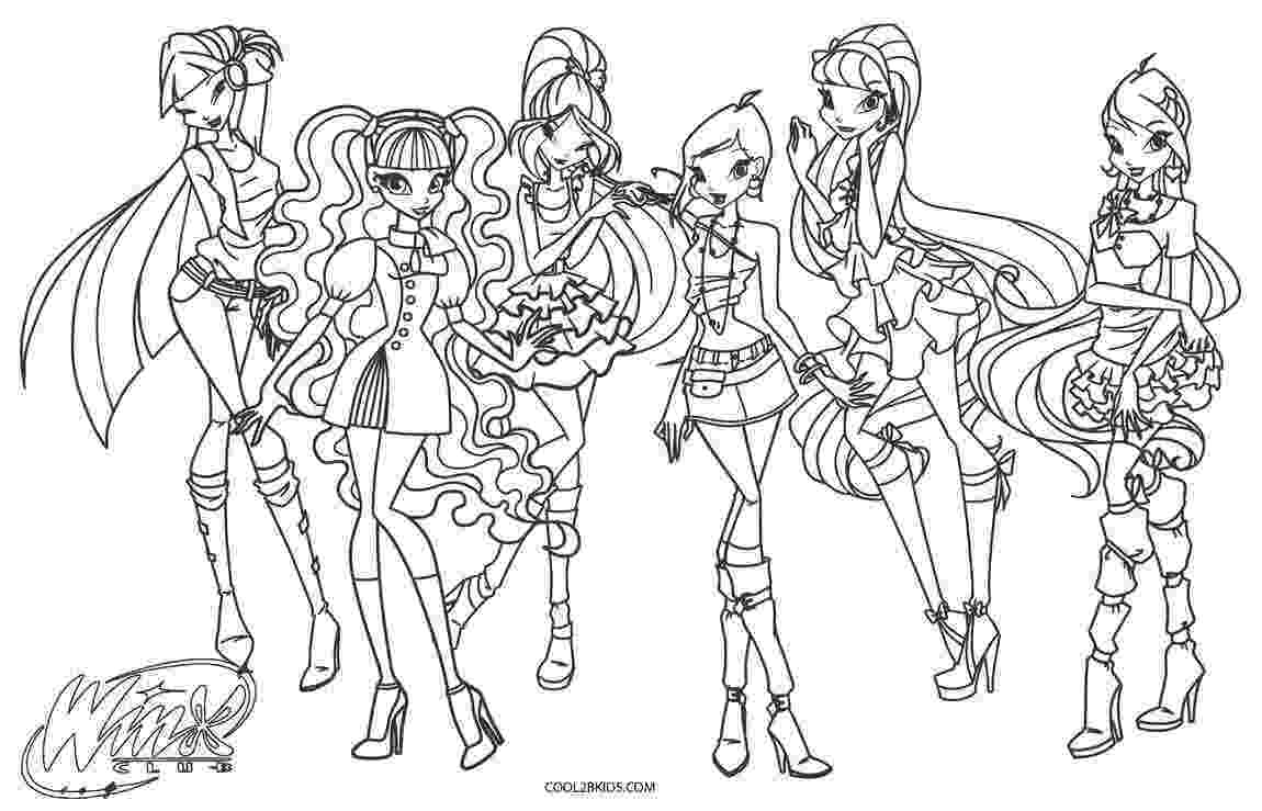 colouring pages for winx free printable winx club coloring pages for kids colouring winx pages for