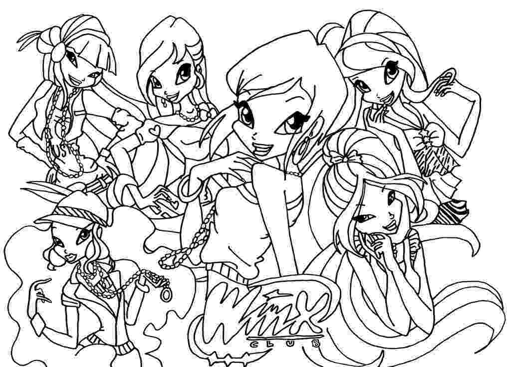 colouring pages for winx free printable winx club coloring pages for kids winx colouring pages for