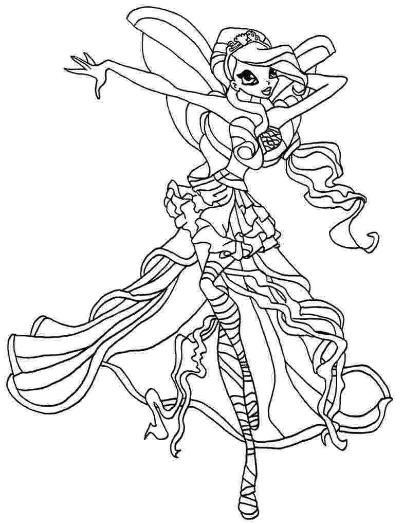 colouring pages for winx free printable winx coloring pages for kids cool2bkids for winx pages colouring
