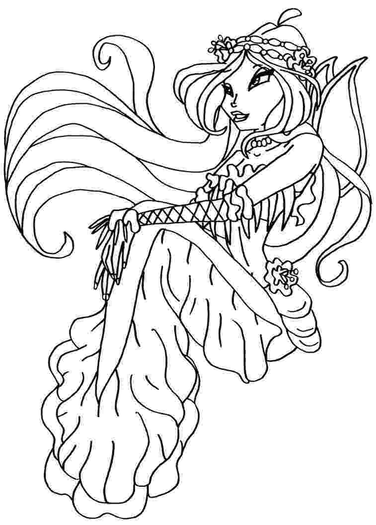 colouring pages for winx print download winx club coloring pages popular pages winx for colouring