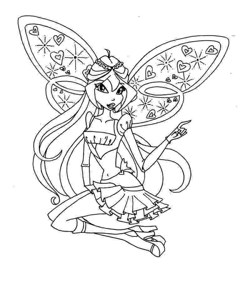 colouring pages for winx stella winx coloring pages download and print stella winx winx for colouring pages