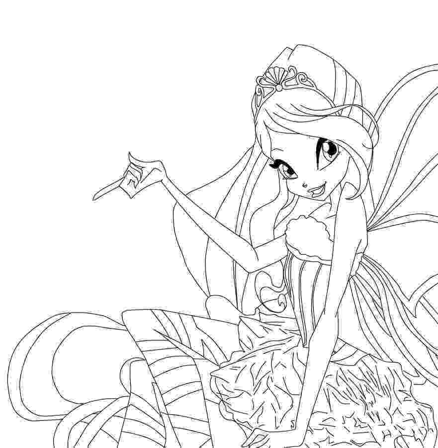 colouring pages for winx winks printable coloring pages coloring home for colouring winx pages