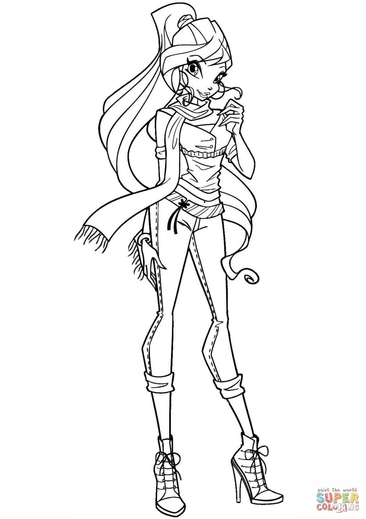 colouring pages for winx winx club coloring pages 360coloringpages colouring for pages winx
