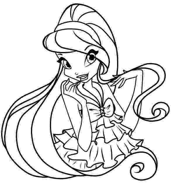 colouring pages for winx winx princess coloring pages download and print for free colouring for pages winx