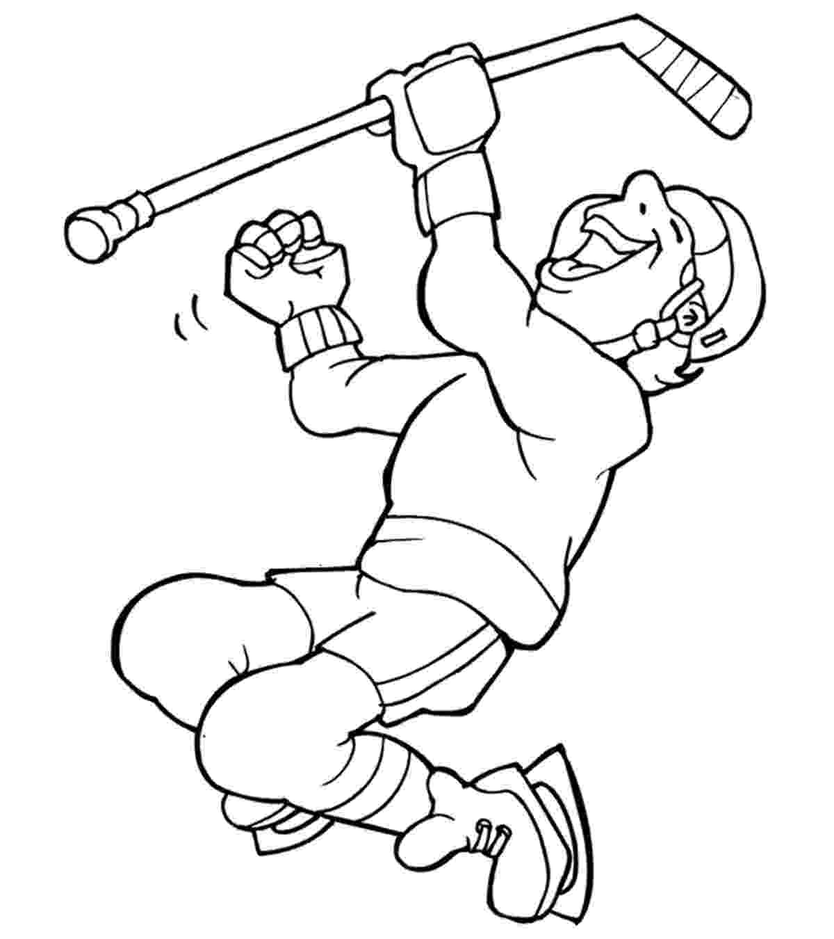 colouring pages hockey free printable hockey coloring pages for kids pages hockey colouring 1 1