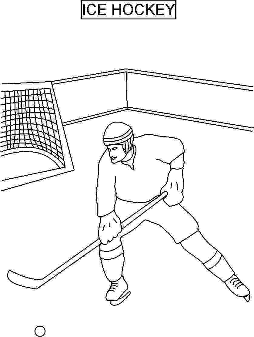 colouring pages hockey hockey coloring pages getcoloringpagescom pages hockey colouring