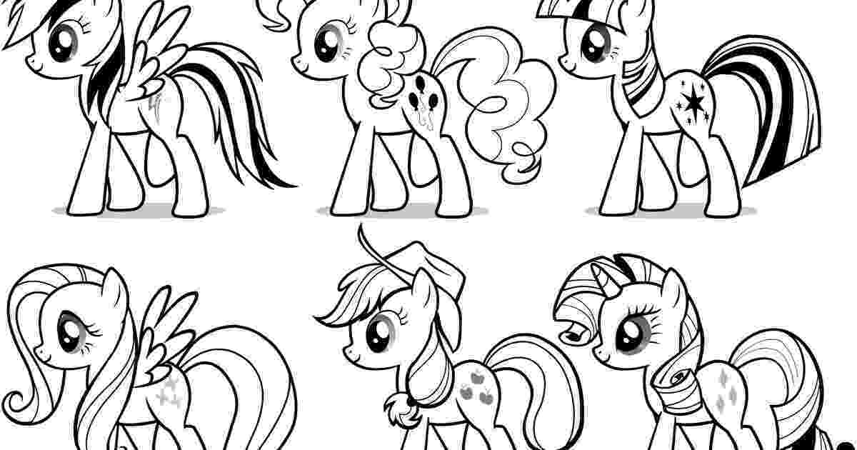 colouring pages little pony my little pony coloring pages team colors colouring pages pony little