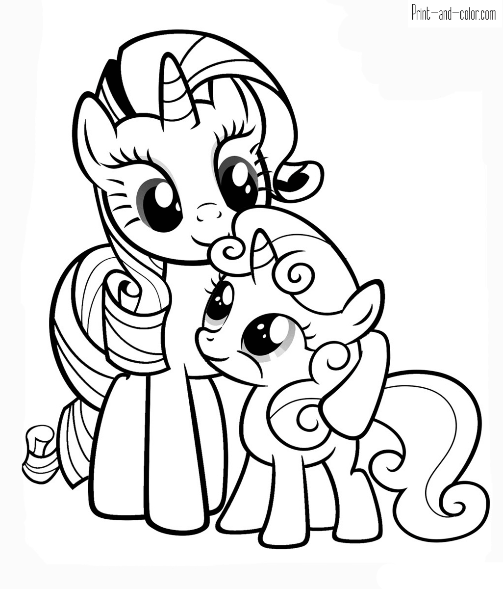 colouring pages little pony pony cartoon my little pony coloring page 003 unicorn little pages colouring pony