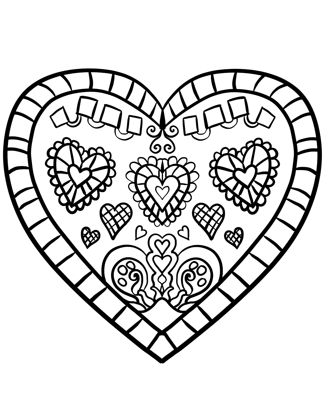 colouring pages of hearts free printable heart coloring pages for kids colouring pages hearts of