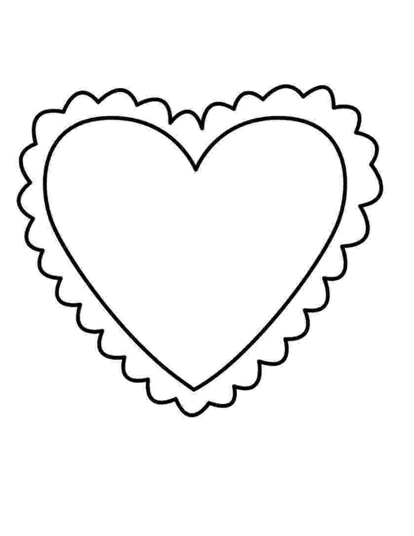 colouring pages of hearts free printable heart coloring pages for kids of pages colouring hearts