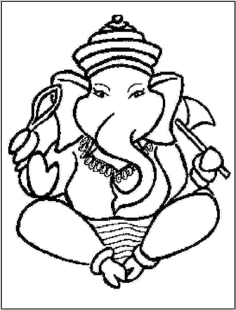 colouring pages of lord ganesha 10 cute lord ganesha coloring pages for your little one colouring pages ganesha lord of