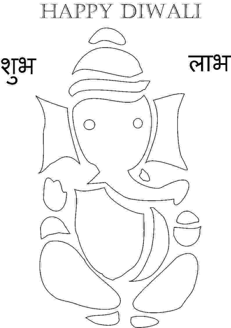 colouring pages of lord ganesha lord ganesha coloring pages for kids pitara kids network ganesha lord pages colouring of