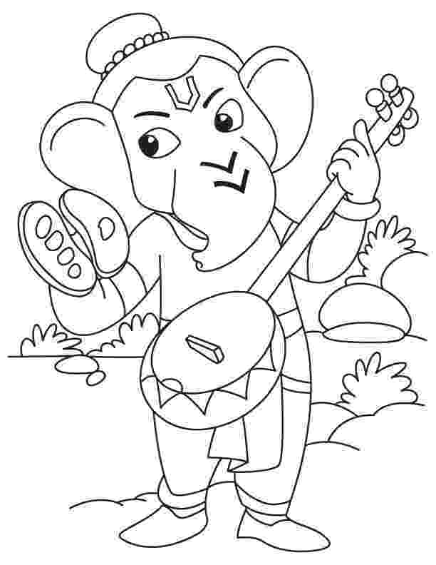 colouring pages of lord ganesha lord ganesha coloring pages in 2020 ganesha painting colouring ganesha of lord pages