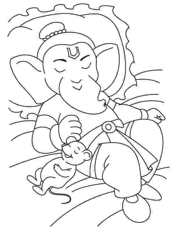 colouring pages of lord ganesha lord ganesha coloring pages pitara kids network ganesha pages lord of colouring