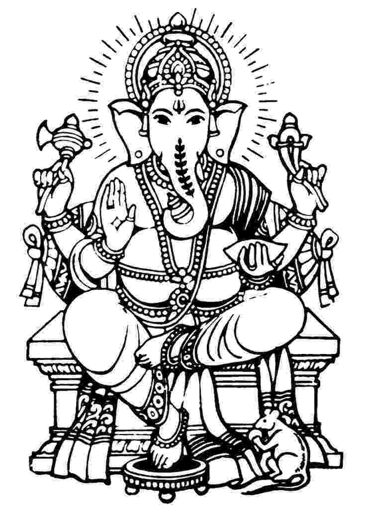 colouring pages of lord ganesha lord ganesha with fire coloring page download free lord ganesha of pages lord colouring