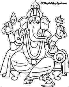 colouring pages of lord ganesha shri ganesha for children to colour childrens land colouring of ganesha pages lord