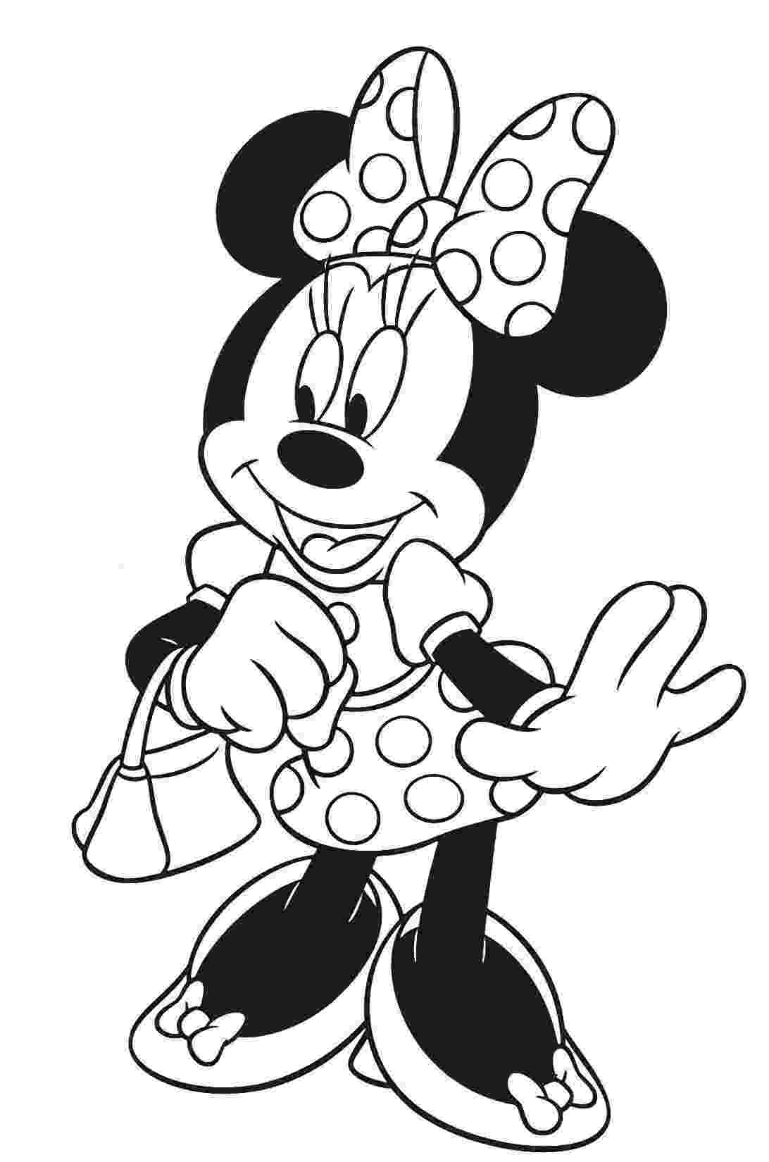 colouring pages of mickey mouse and minnie minnie mouse minnie mouse coloring pages mouse color mouse colouring minnie mickey of and pages