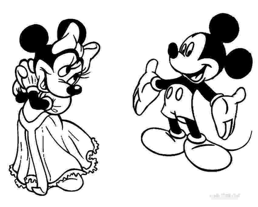colouring pages of mickey mouse and minnie printable minnie mouse coloring pages for kids cool2bkids mouse minnie and colouring mickey pages of