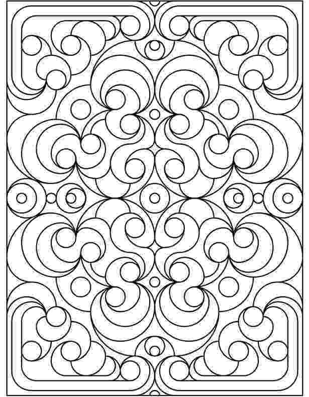 colouring pages of patterns free printable geometric coloring pages for adults pages colouring of patterns