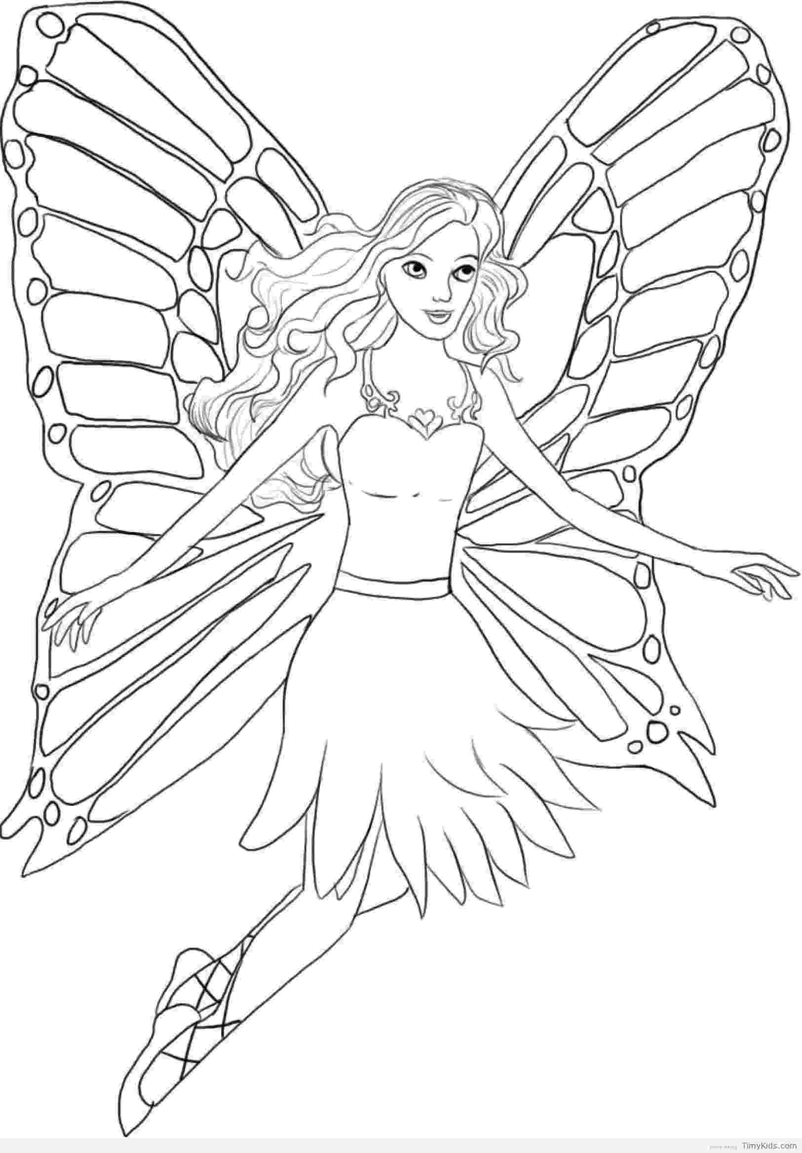 colouring pages of princesses and fairies httptimykidscomfairy princess coloring pagehtml of colouring pages and princesses fairies